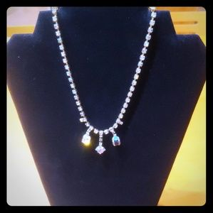 Vintage 50s Rhinestone Necklace